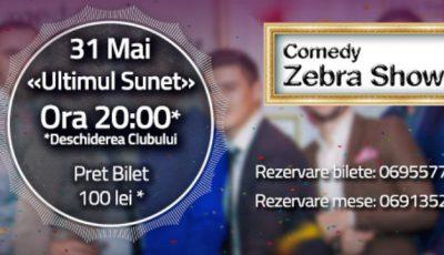 Zebra Show te invită la careu pe 31 mai!