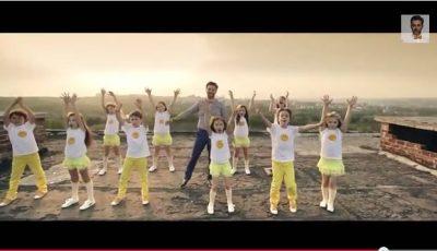 Adrian Ursu a lansat un videoclip de Ziua Copiilor