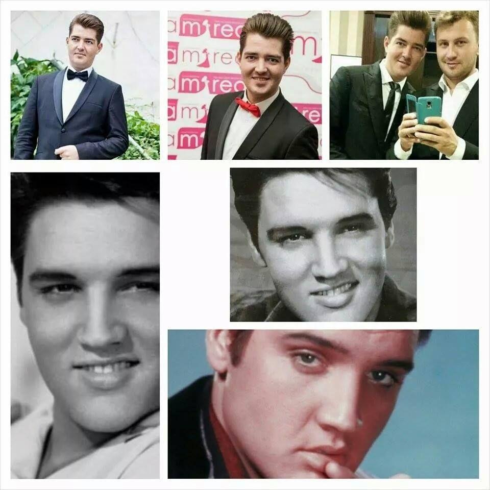 Un interpret de la noi seamănă cu Elvis Presley! Ghici cine e?