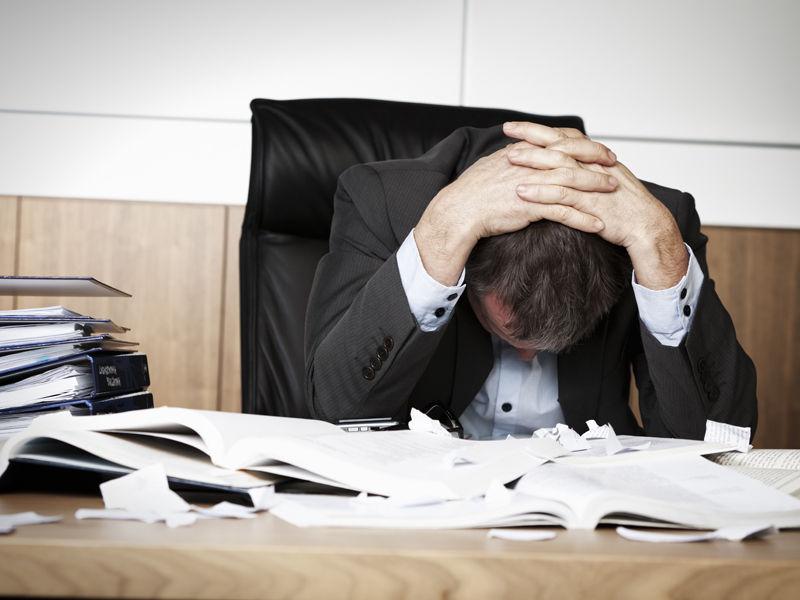 Top 5 profesii care cauzează depresii!