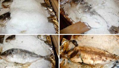 Doradă cu ierburi pe pat de sare! O rețetă ușoară și puțin calorică