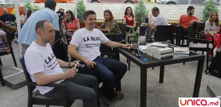 """Foto: Citește """"La Blog""""-ul lui Sergiu Beznițchi și Igor Guzun!"""