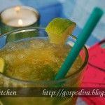 Foto: Cocktail Green Apple! Pentru a trece peste vara canicalară