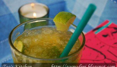 Cocktail Green Apple! Pentru a trece peste vara canicalară