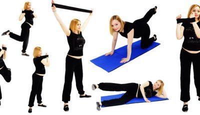 5 exerciții pentru forme frumoase în timpul sarcinii!