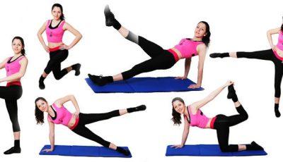 5 exerciții pentru picioare sexy!