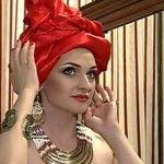 Foto: Sorina Obreja, cu turban pe cap și în rochie în stil african!