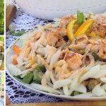 Foto: Din rețetele Natei Albot: Salată cu Somon. Te lingi pe degete!