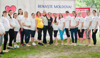 Peste 25 de femei însărcinate au făcut exerciții la Centrul Mamei și al Copilului!