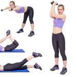 Foto: Exerciții pentru brațe ferme și spate sănătos!