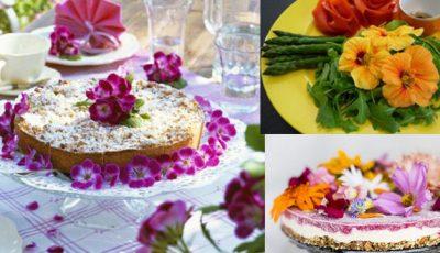 Ce flori pot fi mâncate?