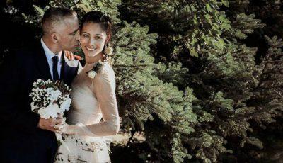 Ce rochie a purtat mireasa lui Eros Ramazzotti la propria nuntă!