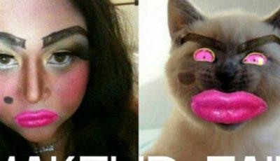 Le-a căzut fața în produsele cosmetice! Cele mai nereușite machiaje
