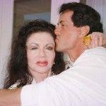 Foto: Mama lui Sylvester Stallone, la 92 ani, desfigurată din cauza operațiilor estetice!
