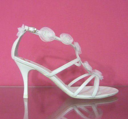 Sandale de nunta cu toc mediu 2