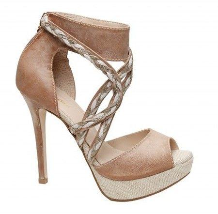 Sandale de vara cu impletituri