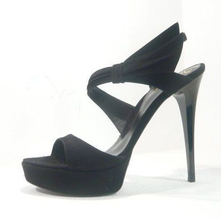 Sandale negre pentru petrecerea de nunta 3