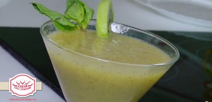 Foto: Limonadă din kiwi! Potolește-ți setea cu vitamine!