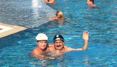 Nea Botgros s-a bălăcit cu întreaga familie în apele Turciei!