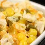 Foto: Salata de pui cu porumb
