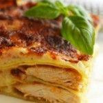 Foto: Lasagna cu pui la grătar și 4 feluri de brânză