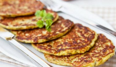 Pancakes din dovlecei