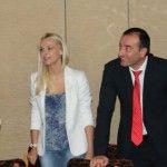 Foto: Natalia Cheptene a apărut alături de Ilan Shor!