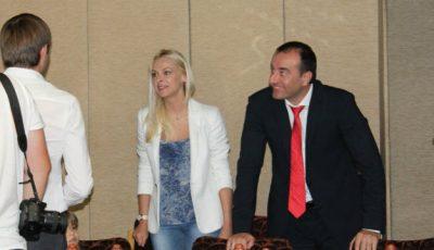 Natalia Cheptene a apărut alături de Ilan Shor!