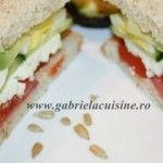 Foto: Sandwich pentru regim
