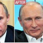 Foto: Presa străină despre operațiile estetice ale lui Putin