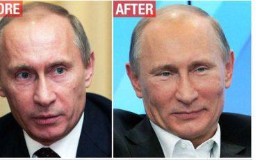 Presa străină despre operațiile estetice ale lui Putin