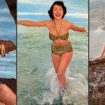 Foto: Cum arătau divele din trecut în costume de baie!