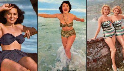 Cum arătau divele din trecut în costume de baie!