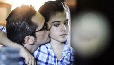 Ştefan Bănică surprins împreună cu odraslele sale din diferite căsnicii