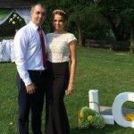 "Foto: Sergiu Sîrbu despre soția sa: ""SOS! Degrabă o ia vîntul!"""