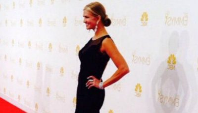 Rochia unui designer din Moldova, pe covorul roșu la Emmy Awards 2014!
