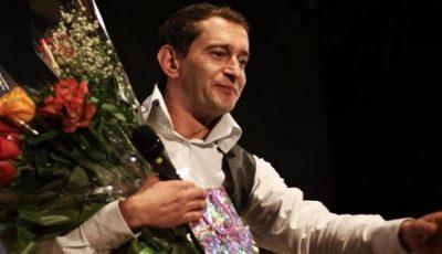Constantin Habenski a jucat într-un spectacol împreună cu fiul său