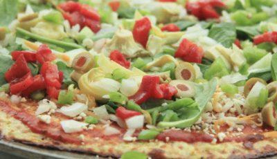 Blat de pizza fără gluten