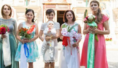 Vera Terentiev l-a botezat pe Răzvănel! POZE exclusive