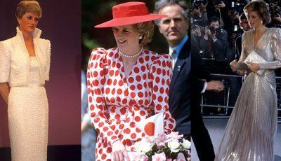Secretele de stil ale prinţesei Diana!