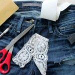 Foto: Transformă-ți jeanșii vechi într-o pereche de pantaloni scurți originali!