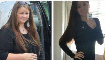 Avea 17 ani şi 110 kilograme. În doi ani a slăbit până la 49 de kilograme. Află-i secretul