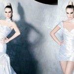 Foto: Soluții! Ce te faci când îți dorești două rochii de mireasă în una!