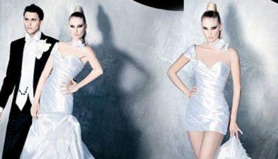 Soluții! Ce te faci când îți dorești două rochii de mireasă în una!