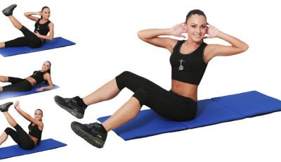 Vrei un abdomen sculptat? 6 exerciții care îți vor pune mușchii la lucru!