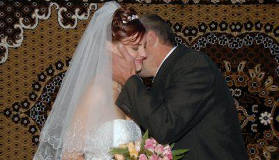 Mireasa unica! Tata a ajutat-o să scape de frica de căsătorie!