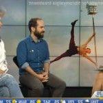 Foto: Nata Albot, invitată la o televiziune din Canada!