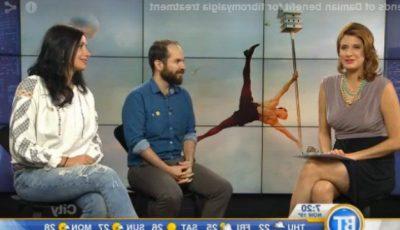 Nata Albot, invitată la o televiziune din Canada!