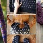 Foto: 4 metode de a refolosi puloverele vechi!