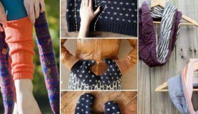 4 metode de a refolosi puloverele vechi!